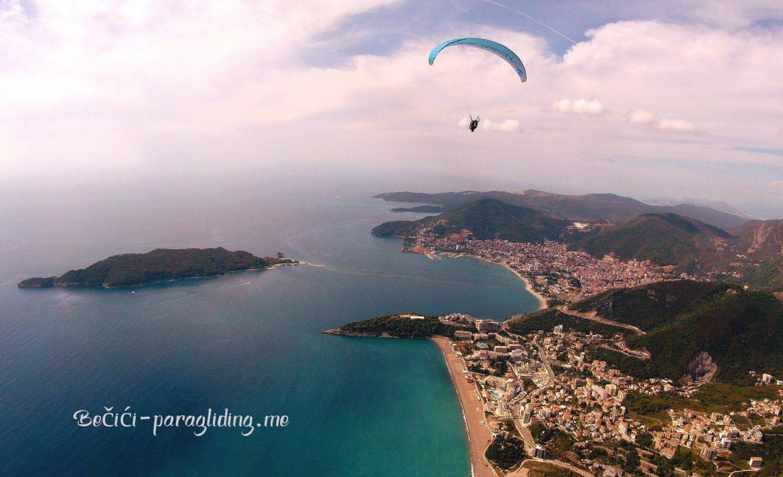 Bečići Paragliding Montenegro - The best adventure for you!